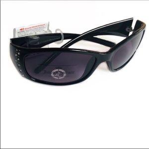 Juicy Couture Sunglasses Jewel Stud Embellished